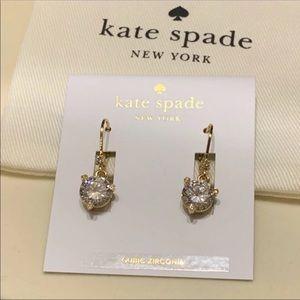 Kate Spade! Crystal Drop Earrings